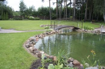 Dārzs tas nav tikai zālājs, ūdenstilpne ļoti labi papildinās ik vienu dārzu. Ja jums ir ideja mēs palīdzēsim jums to realizēt, lai vai kas tas būtu, dīķis, pergola, tiltiņš, vai vienkārši ugunskura vieta...